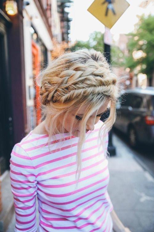 Как заплести корзинку из волос ребенку