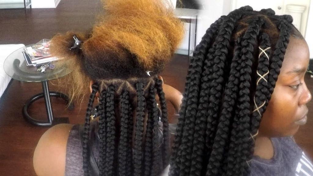 Разновидность африканских кос