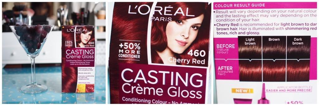 краска для волос палитра