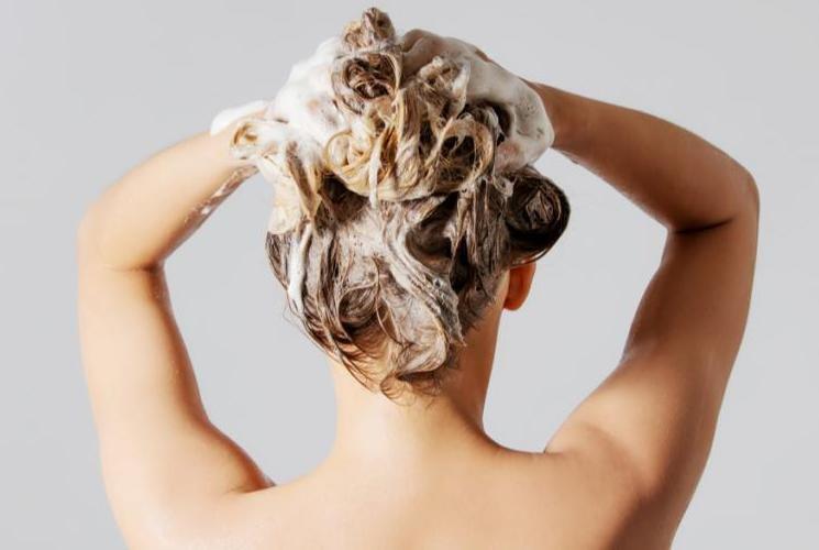 Шампунь для смывки волос