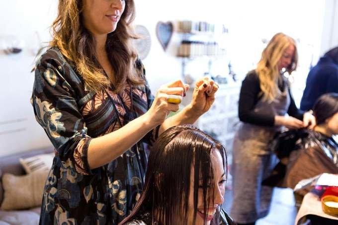 тонирование натуральных волос
