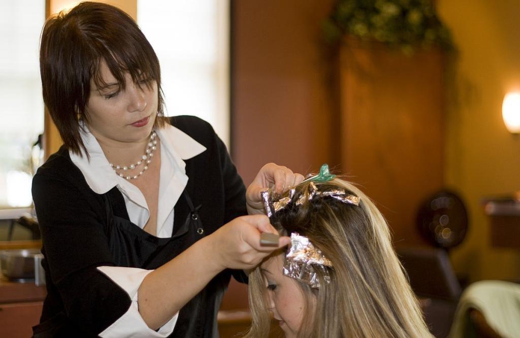 колорирование волос на темно русые волосы