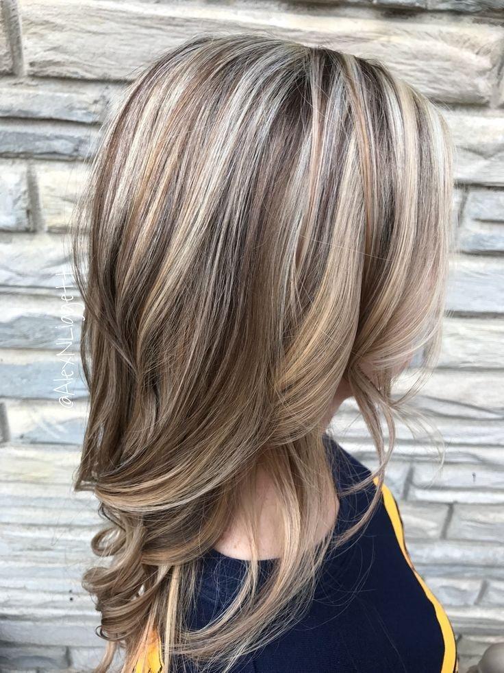 колорирование на русый цвет волос