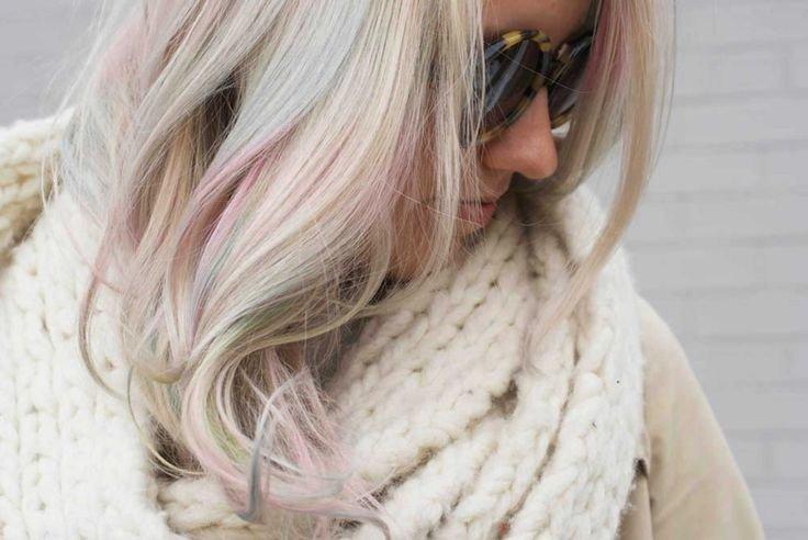 Как получить седой цвет волос?