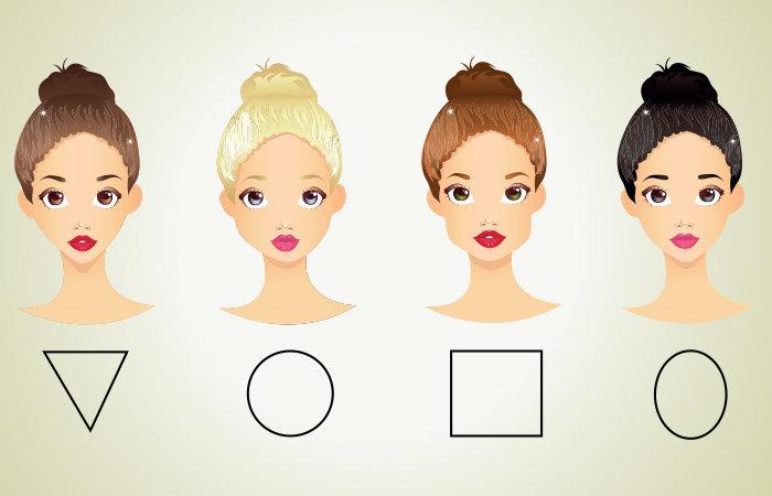 Стрижки для женщин по типу лица