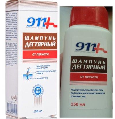 """Шампунь """"911 Дегтярный"""": отзывы, состав, инструкция по применению"""