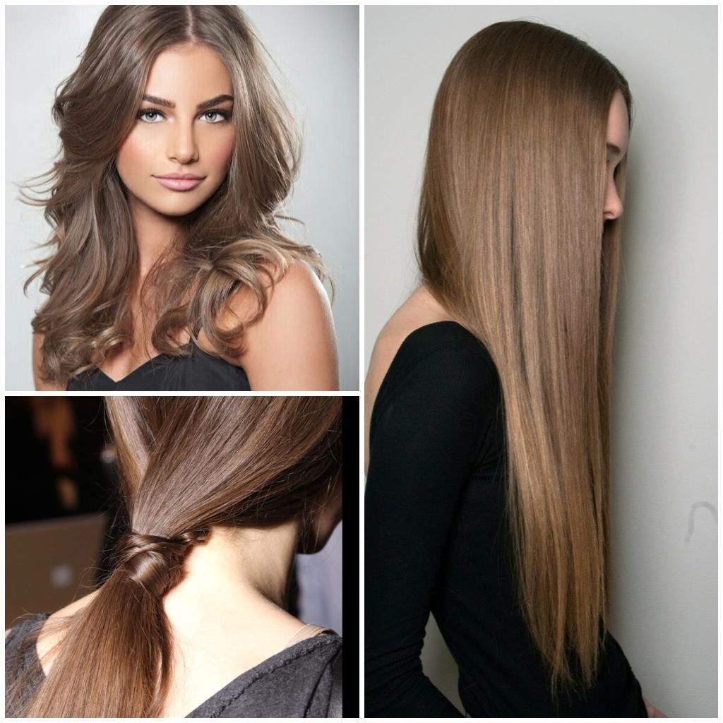 Русый оттенок волос