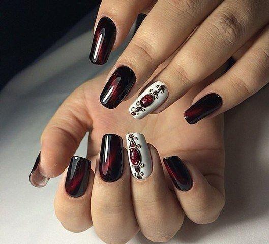 дизайн ногтей для праздника