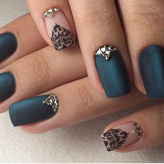 праздничные ногти