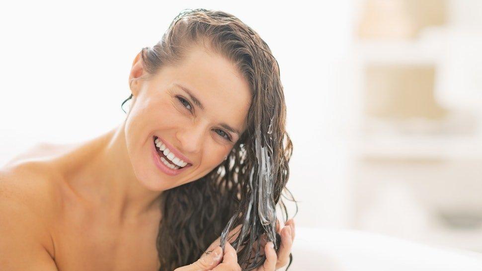 Как сделать эффект мокрых волос в домашних