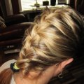 Плетение волос на средние волосы: интересные идеи, техника исполнения, фото