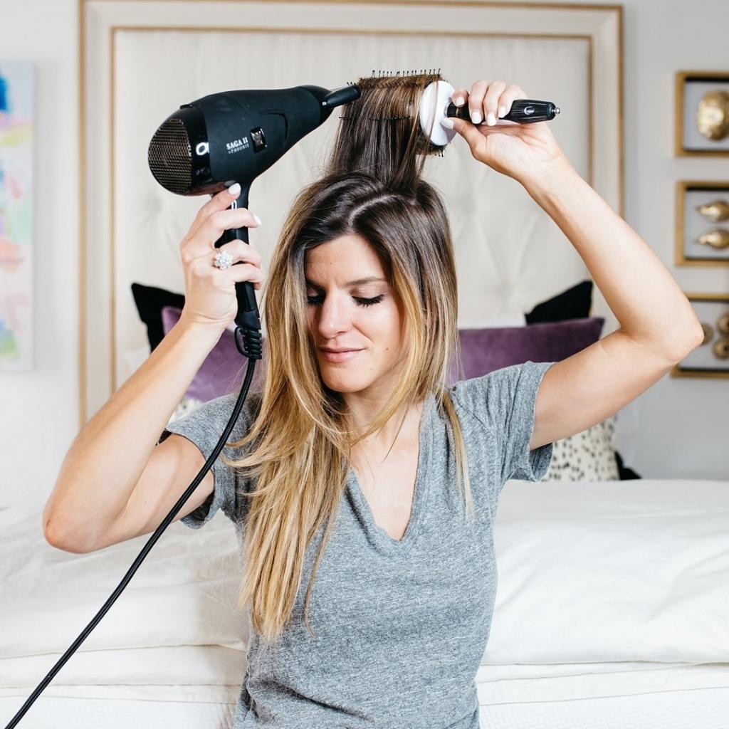 как уложить правильно длинные волосы