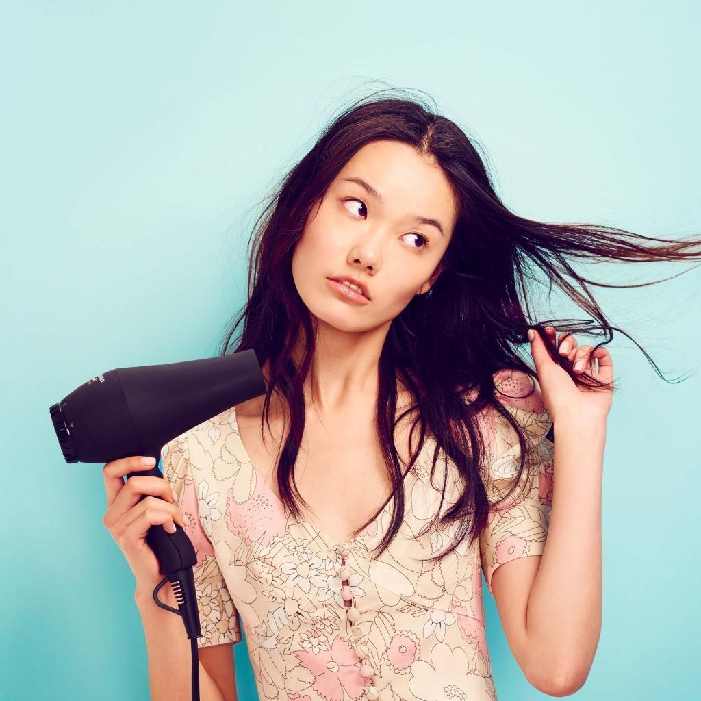 принципы укладки волос феном
