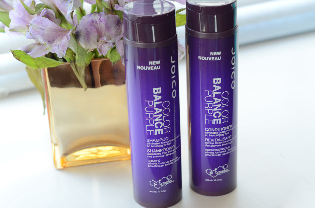 фиолетовый шампунь