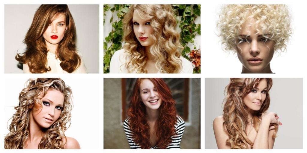 Химия волос на среднюю длину волос