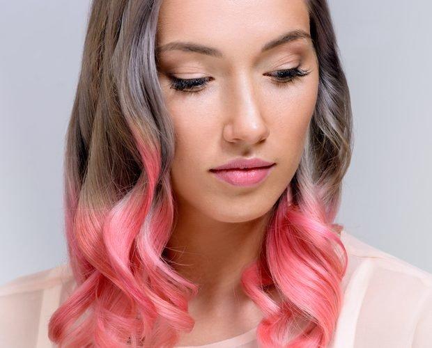 покрасить волосы в два цвета