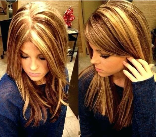 волосы покрашенные в два цвета