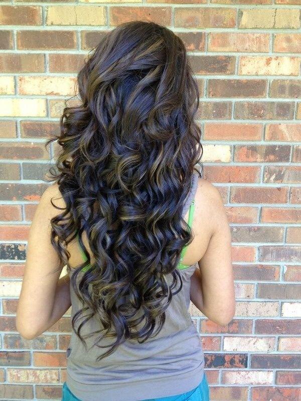 карвинг на длинные волосы