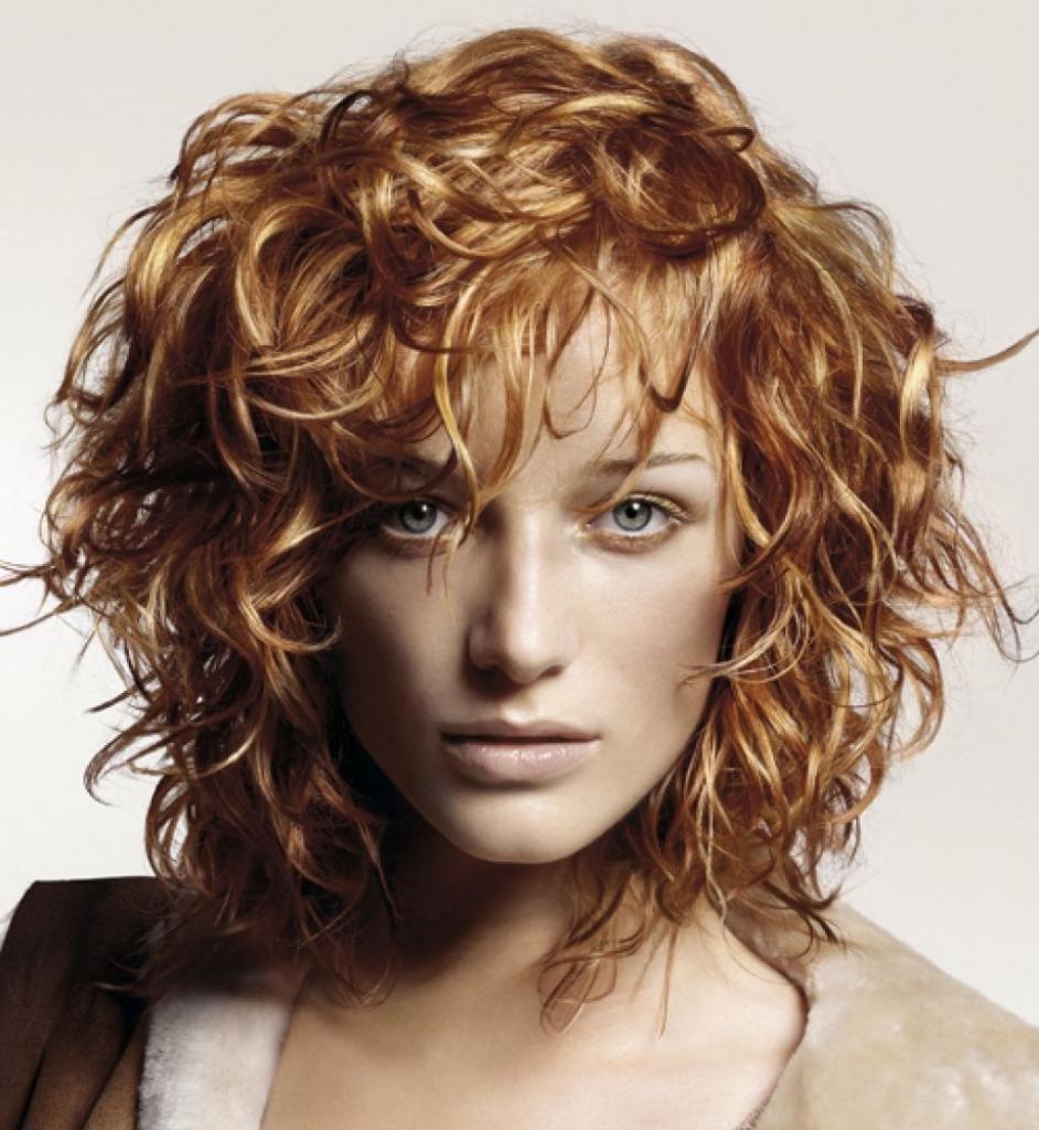 укладка волос с челкой