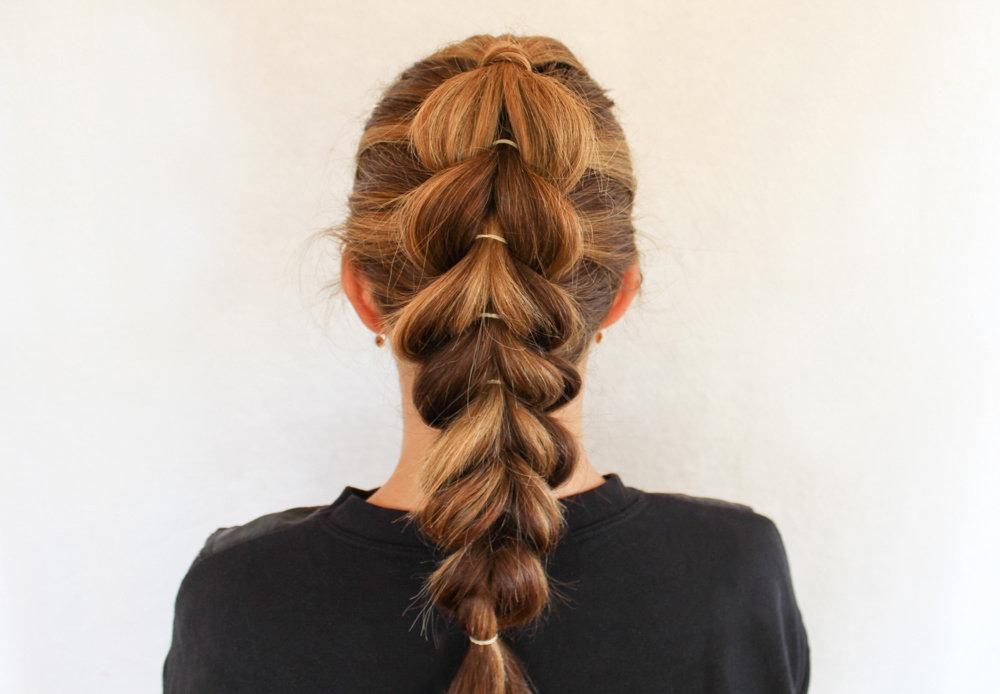 Коса в стиле Жасмин