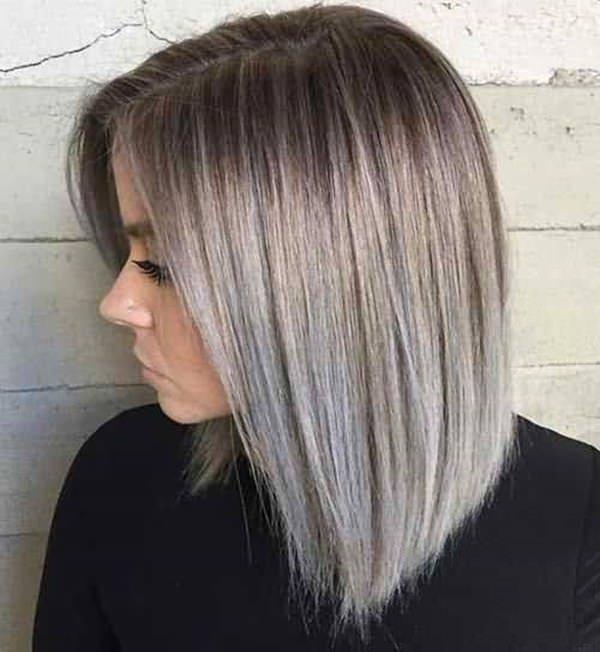 Пепельно-русый оттенок волос