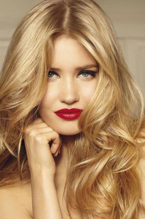 Золотисто-русый блонд