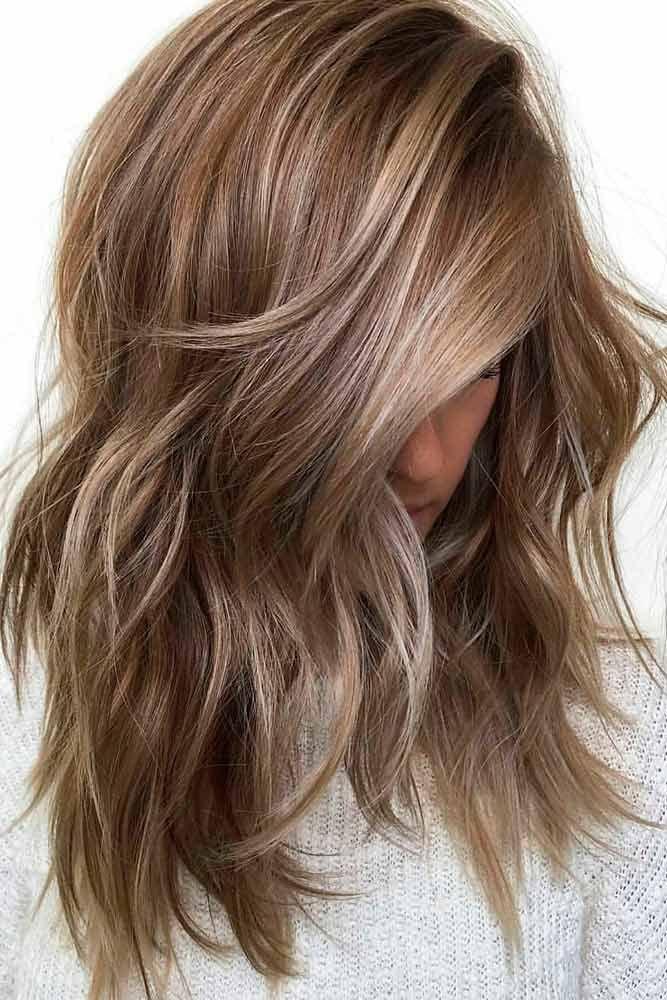 Темно-русый оттенок волос