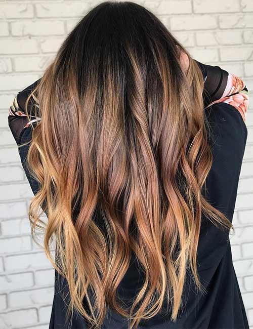 Особенности каштанового цвета волос