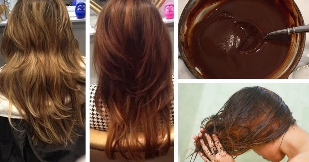 Как окрасить волосы в каштановый цвет