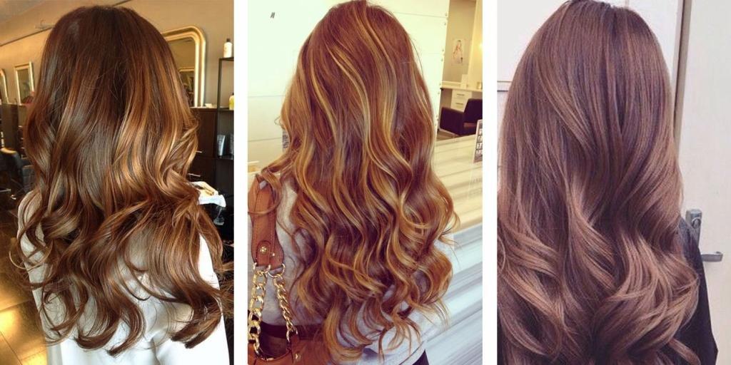Как выглядит цвет волос шатен