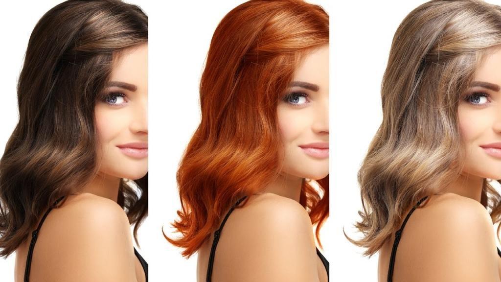 что такое колорирование волос фото