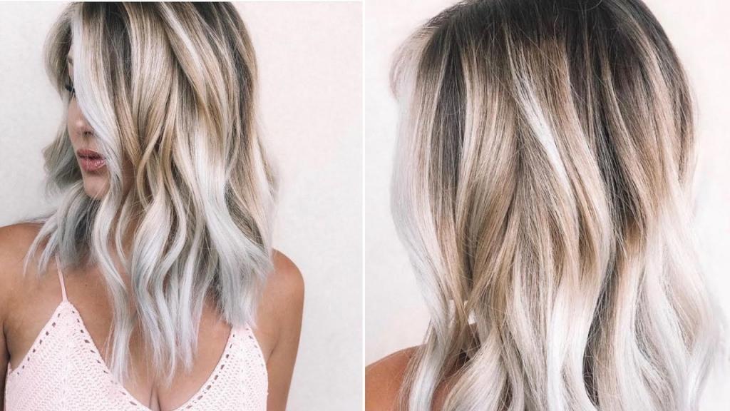 колорирование длинных волос фото на темных волосах