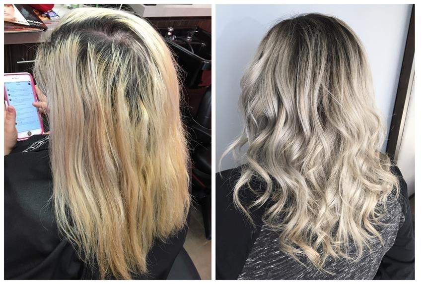 Как окрасить волосы в жемчужно-пепельный цвет