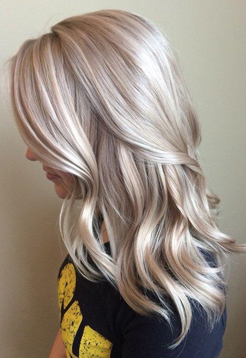 Как выглядит жемчужно-пепельный цвет волос