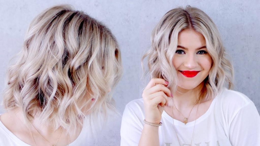 Брондирование на волосы у девушки
