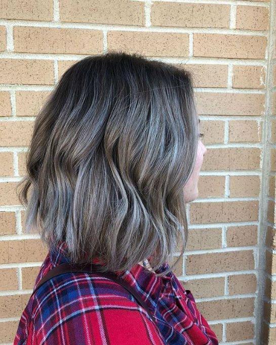 Брондирование на темные короткие волосы фото