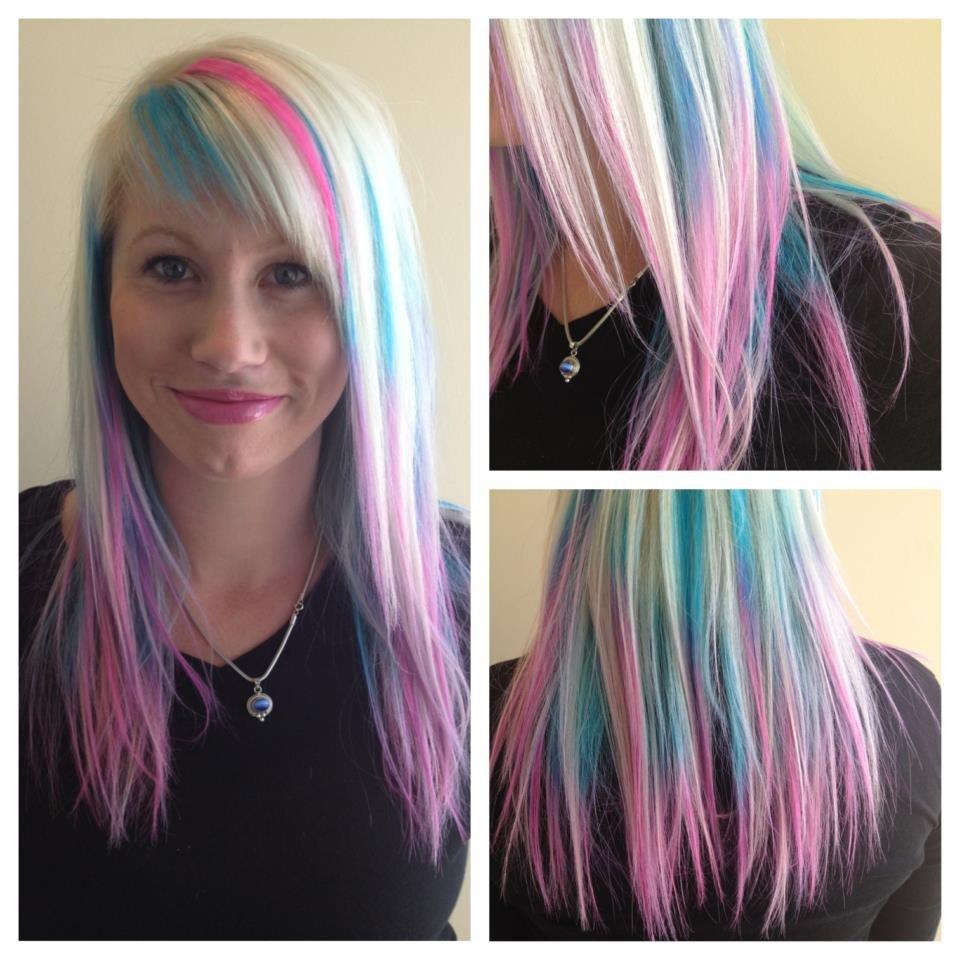 как красить волосы мелками для волос