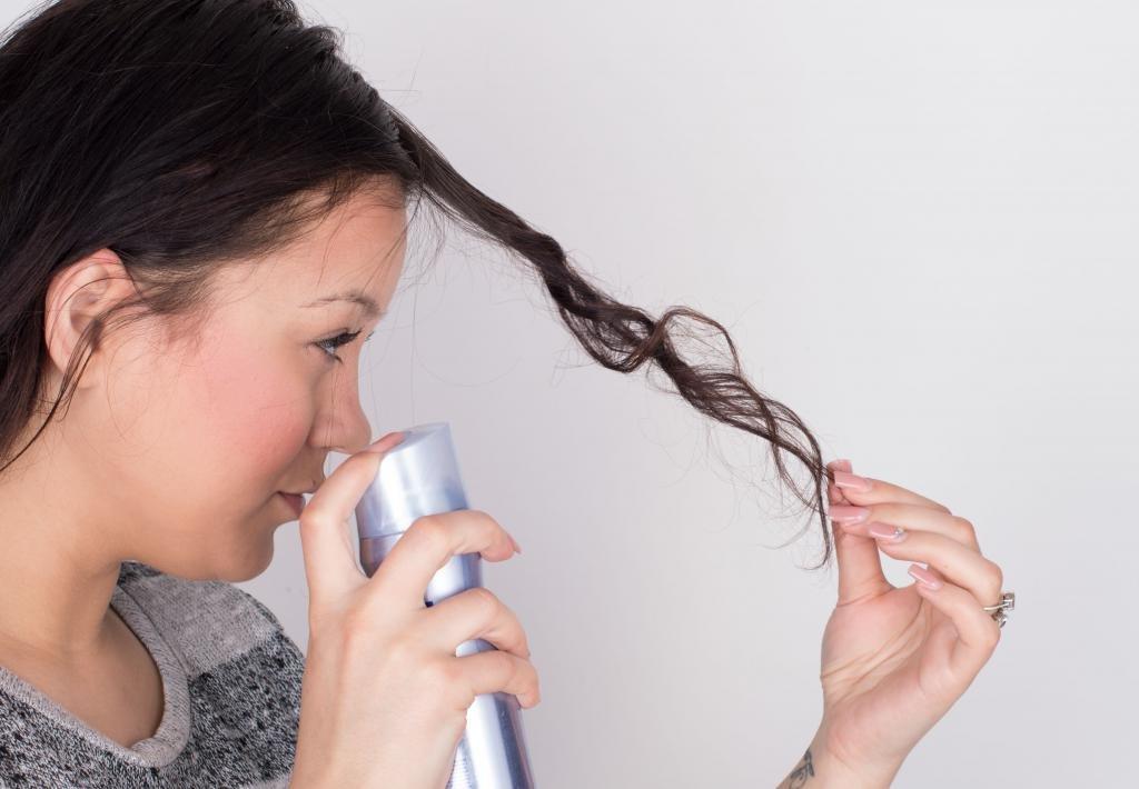 подготовка волос к накручиванию
