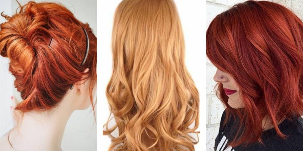 Как ухаживать за рыжими волосами