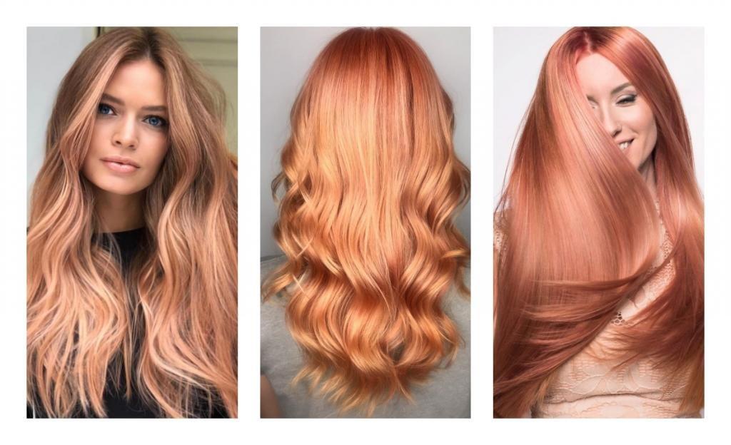 Особенности рыжего цвета волос
