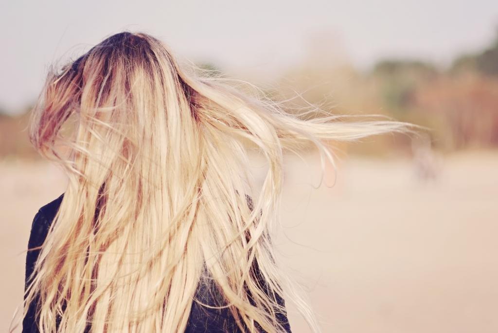 колорирование на светлые средние волосы
