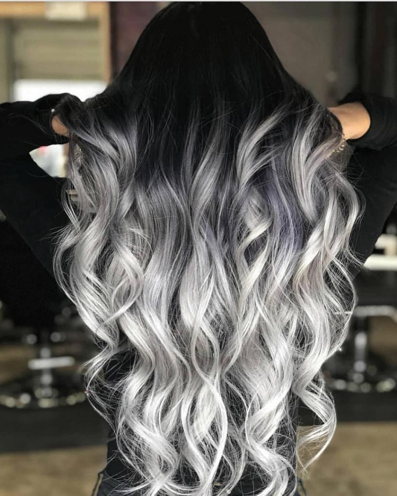 модное колорирование волос на светлые волосы