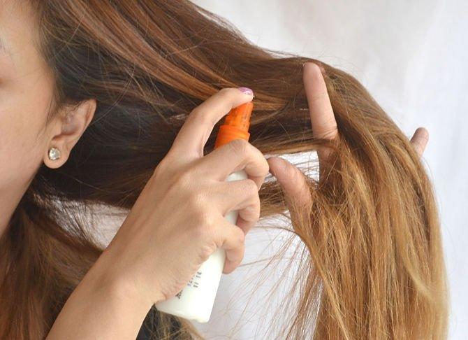 Защита волос от солнца и соленой воды
