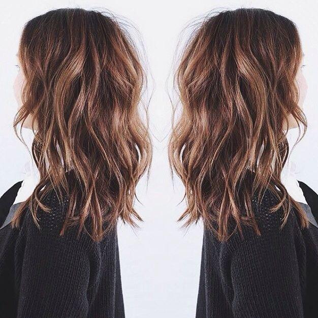 Тип волос и стрижка каскад