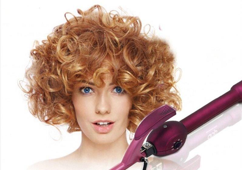 Биологическая завивка волос: фото до и после