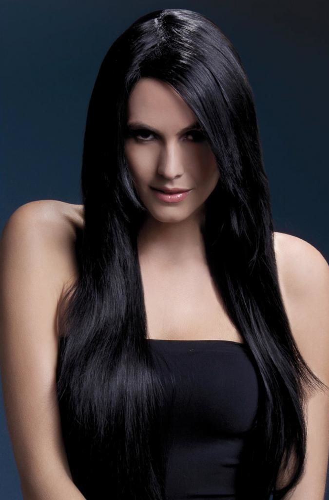 черные волосы
