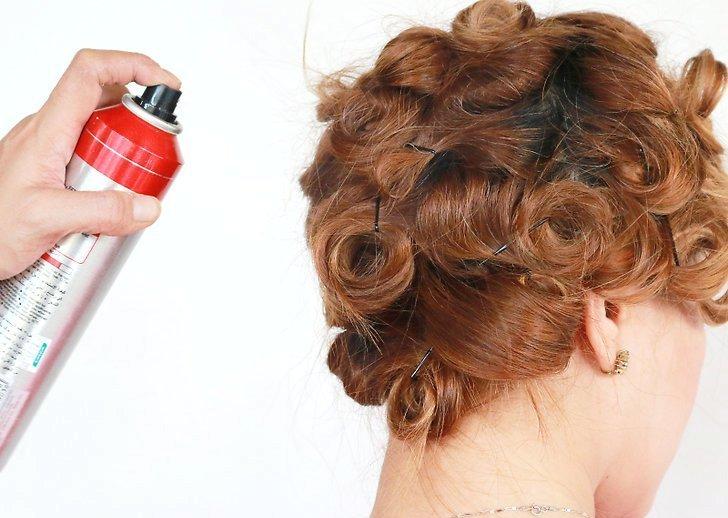 Легкие волны на волосах