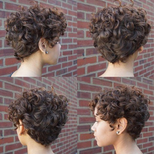 Красивые кудри на короткие волосы