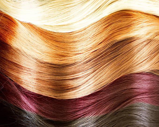 как красить корни волос