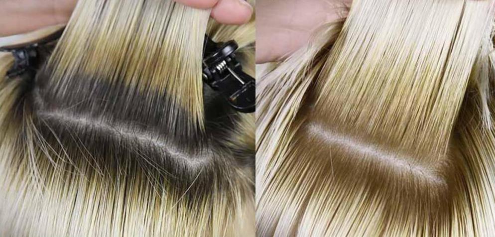 как покрасить корни волос